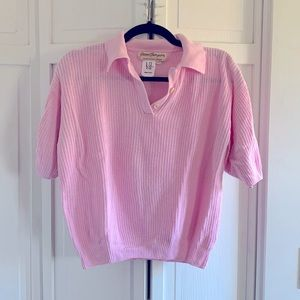 💕3 for $20💕 Norm Thompson Pink Sweater Top